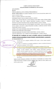 ORDEN DE CAPTURA Y ARRAIGO