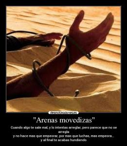 arena movediza cano